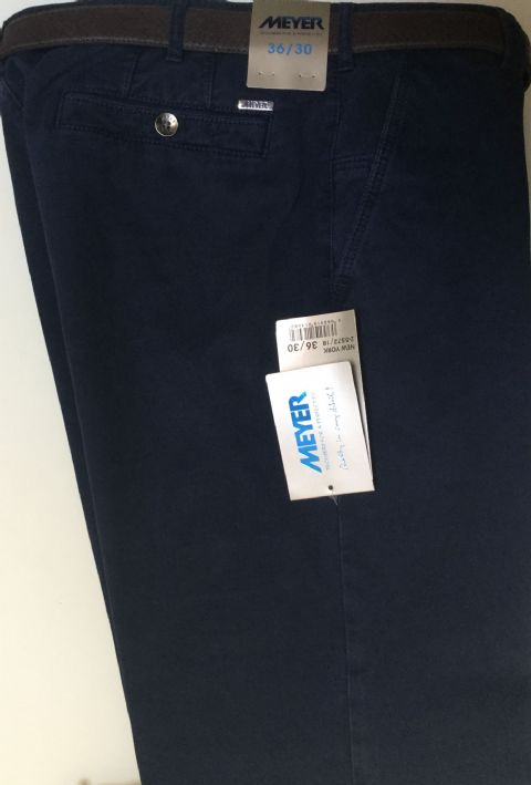 Meyer Navy Trousers - Style New York - 2-5572/18